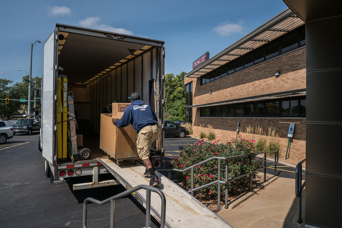 Office Moving - Mordue Moving and Storage